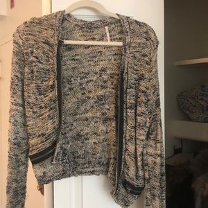 Free People zip up sweater!